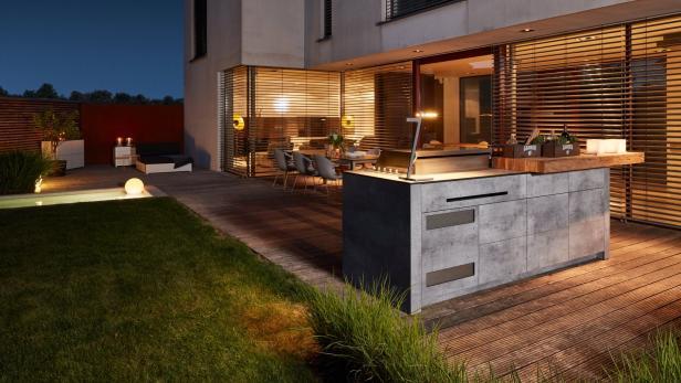 Kochen im Freien: So planen Sie eine Outdoor-Küche | kurier.at