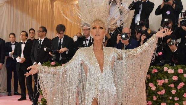 Met Gala 2019: Céline Dion offers moments of gold, flashes