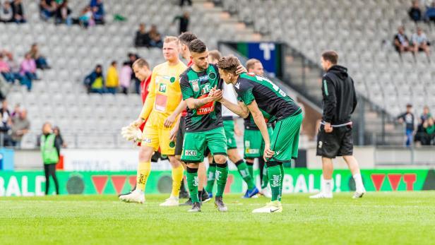 FUSSBALL: TIPICO-BUNDESLIGA / QUALIFIKATIONSRUNDE: FC WACKER INNSBRUCK - SV MATTERSBURG