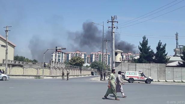 In Kabul explodierte eine Autobombe