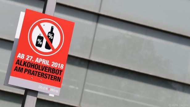 Das Alkoholverbot war 2018 eingeführt worden