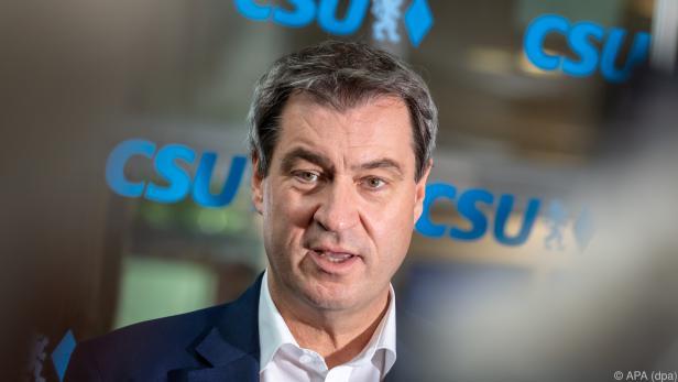 Kein weiterer deutscher Alleingang in der Causa, sagte Söder