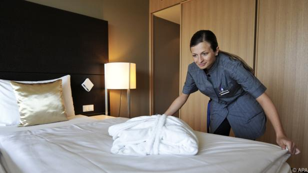 Vor allem die Hotellerie durfte sich über ein Umsatzwachstum freuen