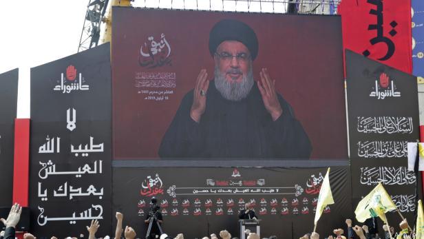 Hisbollah-Chef Hassan Nasrallah fand klare Worte