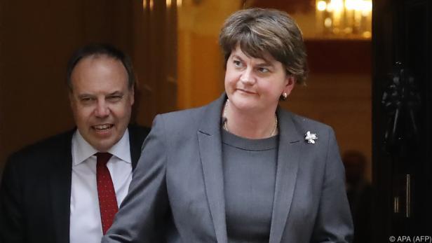 Nordirlands DUP-Chefin Foster sieht keine Annäherung