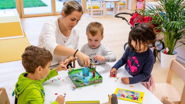 Flexible Kinderbetreuung, auch bis nach Dienstschluss