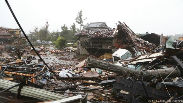 """Taifun """"Hagibis"""" forderte bisher mindestens ein Todesopfer"""