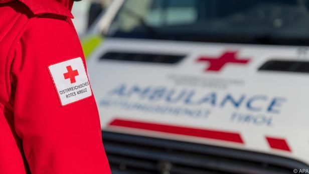Rotes Kreuz im Einsatz