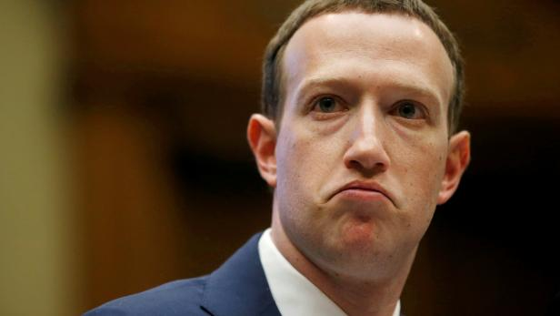 FILE PHOTO: Facebook CEO Mark Zuckerberg testifies before the House Energy and Commerce Committee hearing in Washington