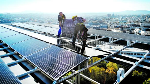 Neues Solardach für Haus des Meeres