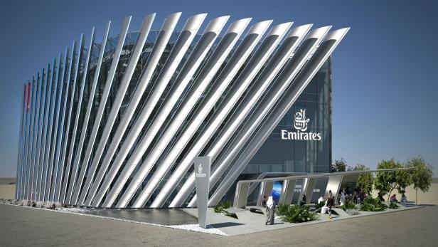 Pavillon der Emirates Expo 2020