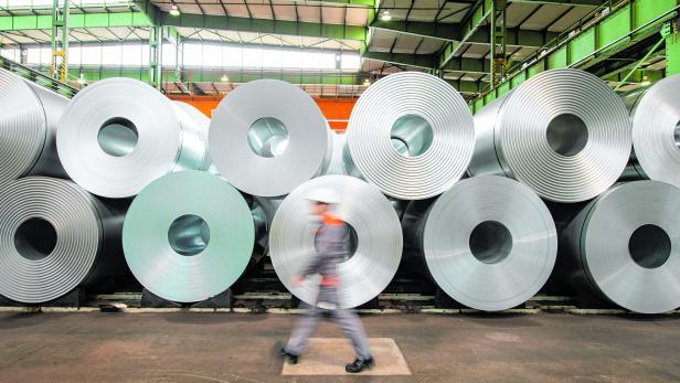 Stahl bei der Salzgitter AG