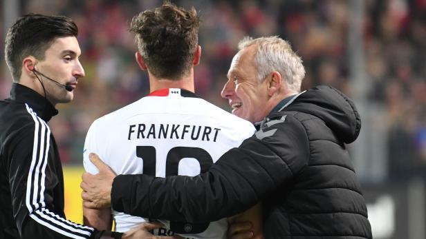 FBL-GER-BUNDESLIGA-FREIBURG-FRANKFURT