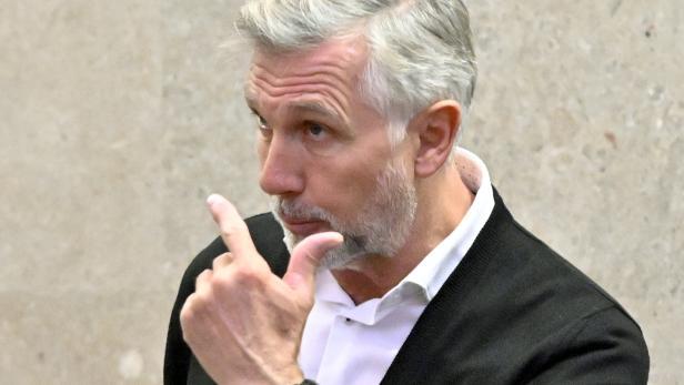 Buwog-Prozess: Der Angeklagte Walter Meischberger