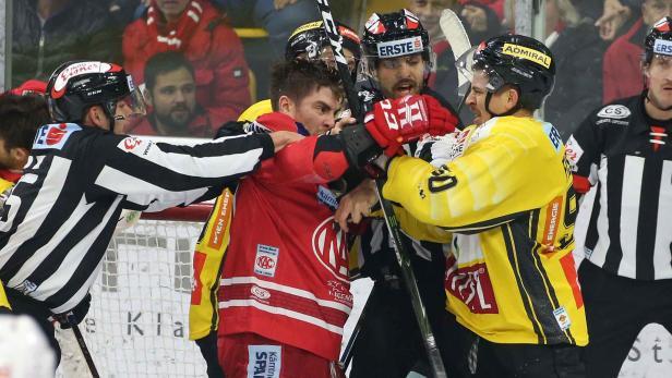 Eishockey, KAC - Vienna Capitals