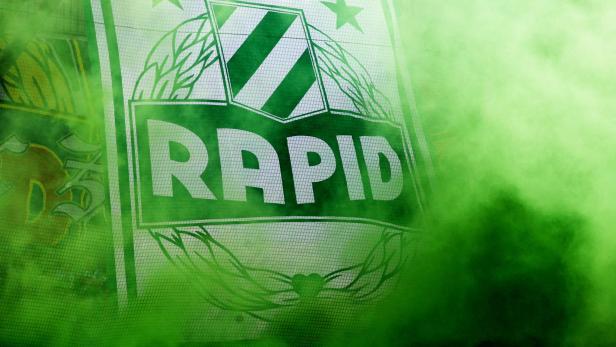 Fussball , Rapid - Sturm Graz
