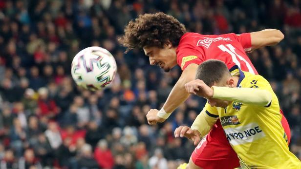 FUSSBALL TIPICO-BUNDESLIGA GRUNDDURCHGANG: FC RED BULL SALZBURG - SPUSU SKN ST. PÖLTEN