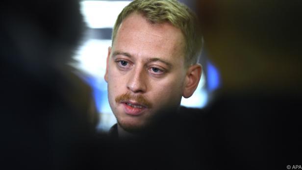 Max Zirngast zeigt sich empört ob der Ermittlungen gegen ihn