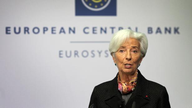 Die neue EZB-Präsidentin Christine Lagarde