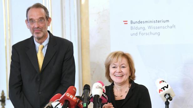 Faßmann hatte Wiesinger Anfang 2019 ins Ministerium geholt