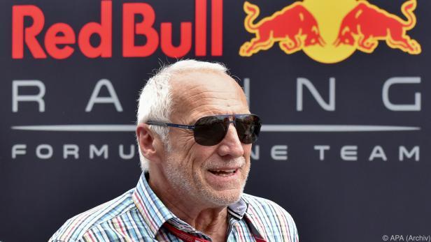 Red Bull-Chef Mateschitz wird den Abstieg im Ranking wohl verkraften