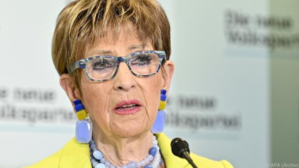 Ingrid Korosec, Präsidentin des Seniorenbundes und des Seniorenrates