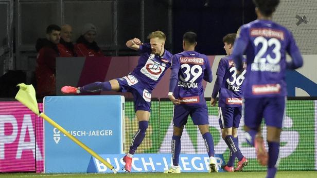 FUSSBALL TIPICO BUNDESLIGA / GRUNDDURCHGANG: FK AUSTRIA WIEN - RB SALZBURG