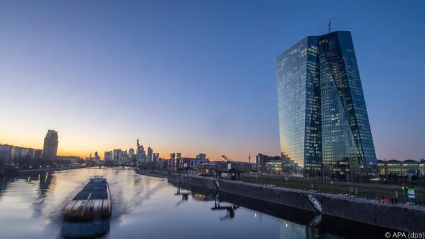 EZB-Hauptquartier in Frankfurt/Main