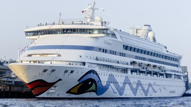 """Das Kreuzfahrtschiff """"Aida Aura"""""""