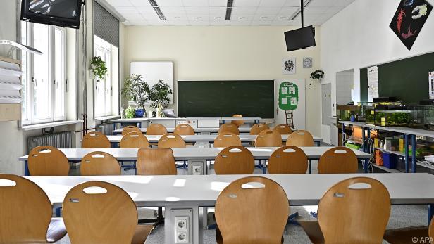 Ab Montag bleiben die Schulklassen leer