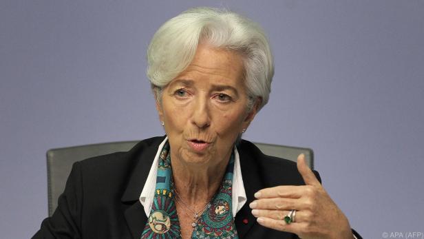 Lagarde: Pandemie großer Schock für die Wirtschaft