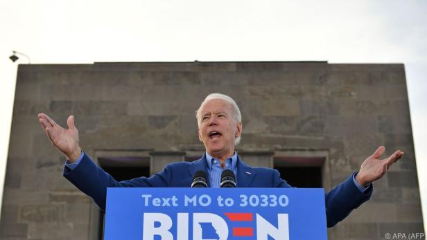 Ex-US-Vizepräsident Joe Biden baute Vorsprung deutlich aus