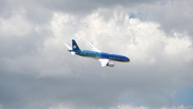 Die Air Tahiti Nui war knapp 16 Stunden unterwegs