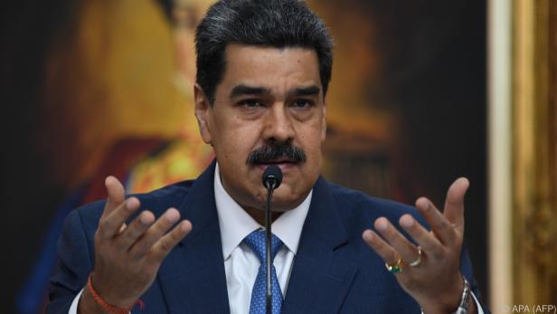 Auf Maduro wurde ein hohes Kopfgeld ausgesetzt