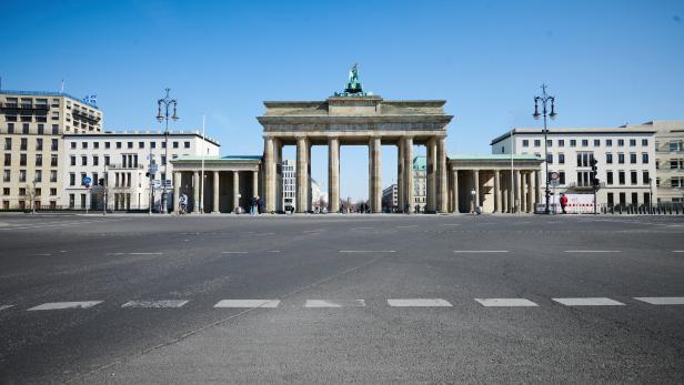 Coronavirus - Berlin Platz des 18. März