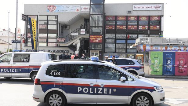 WIEN: SSCHUSSABGABE BEI BANKÜBERFALL IN DONAUSTADT - EIN VERLETZTER