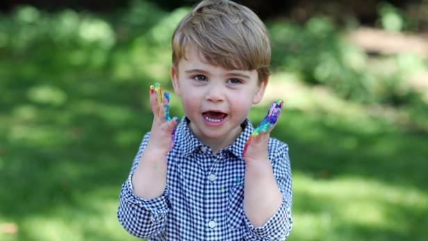 Prince Louis' second birthday