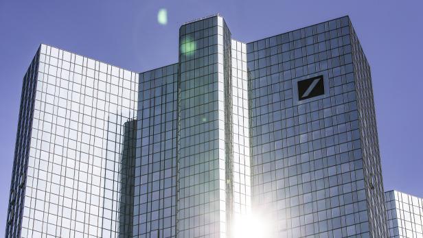 Deutsche Bank headquarters in Frankfurt