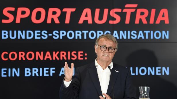 """PG SPORT AUSTRIA""""ÖSTERREICHS SPORT IN DER CORONA-KRISE: ZWISCHENBILANZ UND AUSBLICK"""": NIESSL"""