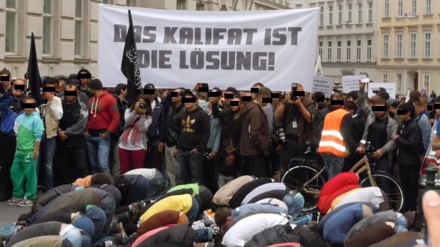 Bildergebnis für tschetschenen demo wien