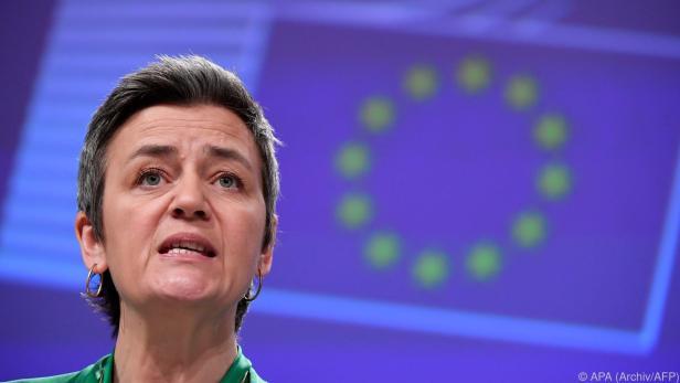 Vestager will ausreichende Entlohnung der Steuerzahler sicherstellen