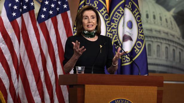 US-SPEAKER-PELOSI-SPEAKS-TO-MEDIA-IN-WEEKLY-BRIEFING-ON-CAPITOL-