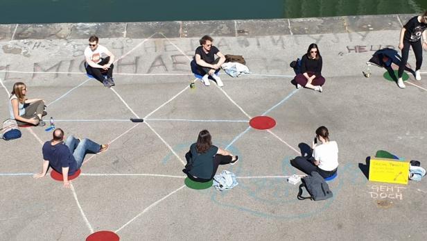 Social Spots von der Fußgängerinitiatve Geht doch Wien am Donaukanal