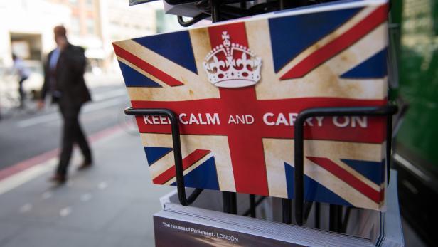 Ist es so einfach: Keep calm and carry on?