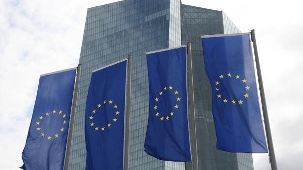 Die Europäischen Zentralbank (EZB) in Frankfurt am Main