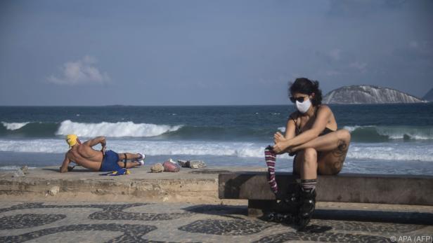 Corona-Todeszahlen in Brasilien steigen rasant