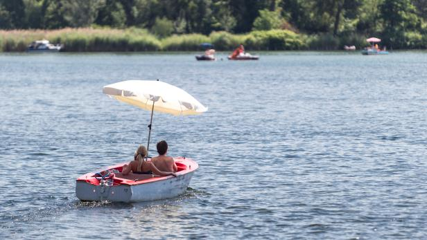 Alte Donau - Themenbild Sommer