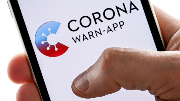 German corona warning app