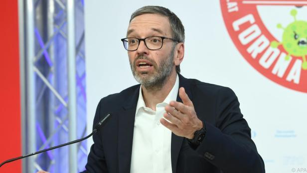 """FPÖ-Klubobmann Kickl bezeichnete Sobotka als """"Tatortreiniger"""""""