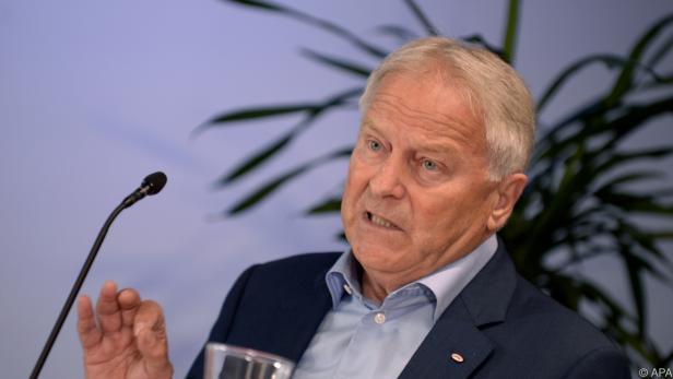 Erleichteter ÖFB-Präsident Leo Windtner.